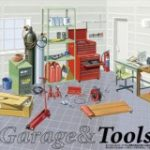 1/24 Garage And Tools