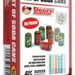 Doozy! 1/24 Set Of Soda Cans