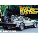 Kit 1/24 Delorean Back To The Future Part 1