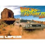 Kit 1/24 Delorean Back To The Future Part 3