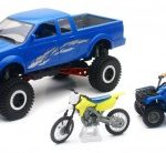 1/20 Xtreme Adventure Pickup 4X4 Off Road Playset [2 Modelli Diversi]