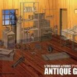 Antique Garage cod. 11104