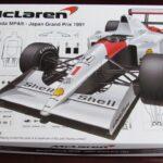 Mclaren Honda mp4/6 Japan grand prix 1991 cod. 090433