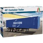 Italeri container trailer 40 cod. 3951