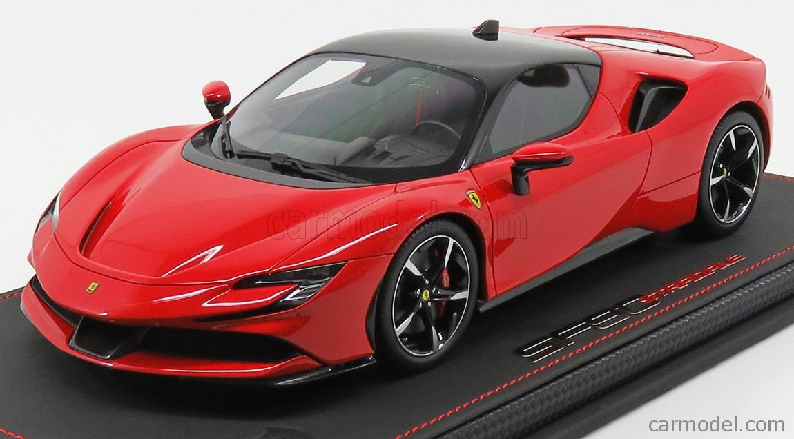 Ferrari sf 90 stradale rosso corsa 322 cod P 18180 a