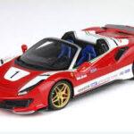 Ferrari 488 pista spider speciale versione Lauda cod. P18162LA