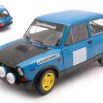 Autobianchi A 112 blu solido