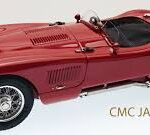 Jaguar c- type 1952 rosso (cmc)